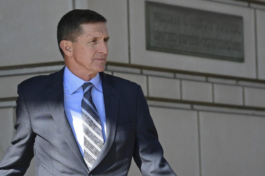 L'ancien proche conseiller de Donald Trump, Michael Flynn... (PHOTO Susan Walsh, AP)