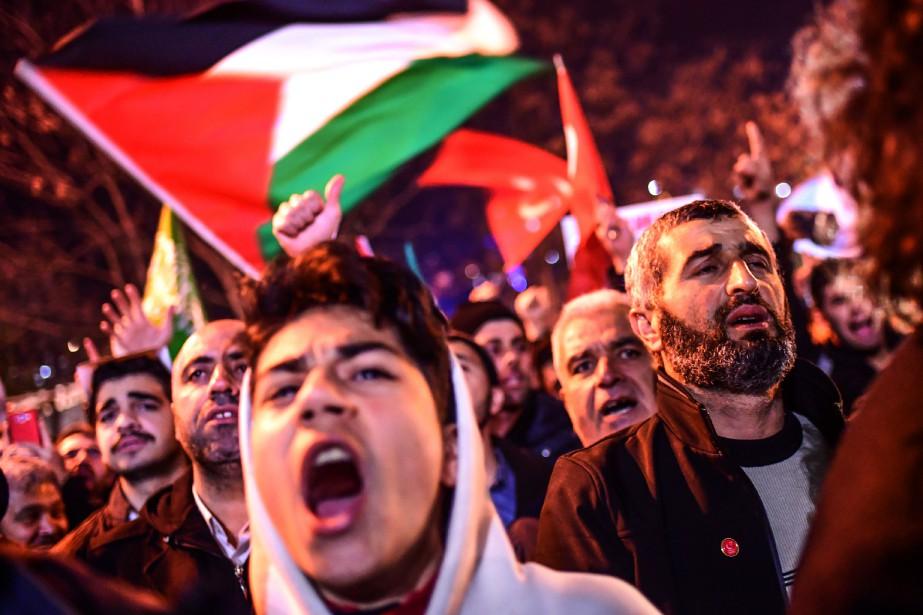 Le projet de résolution proposé par l'Egypte pourrait... (Photo AFP)