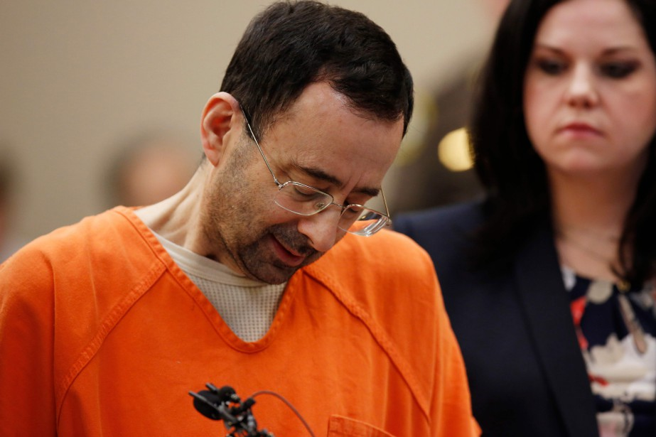 Larry Nassar... (Photo Jeff Kowalsky, AFP)