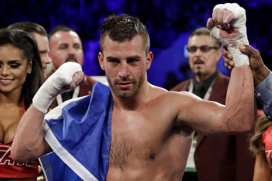 David Lemieux... (Photo John Locher, archives AP)