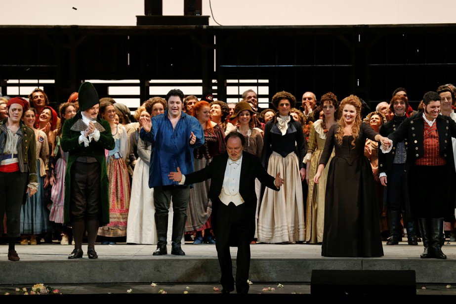 Le directeur musical de la Scala, Riccardo Chailly,... (Photo AFP)