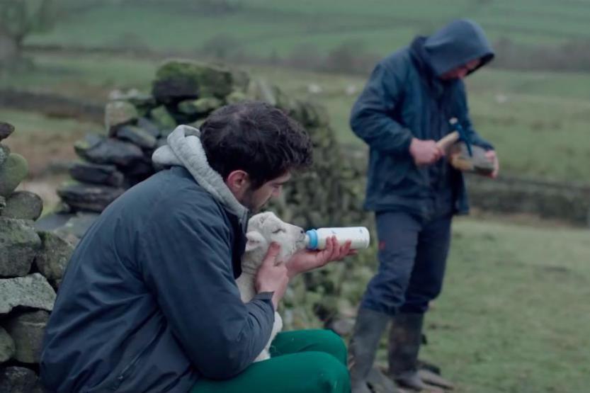 Josh O'Connor et Alec Secareanu dans God's Own... (Photo fournie par TVA Films)