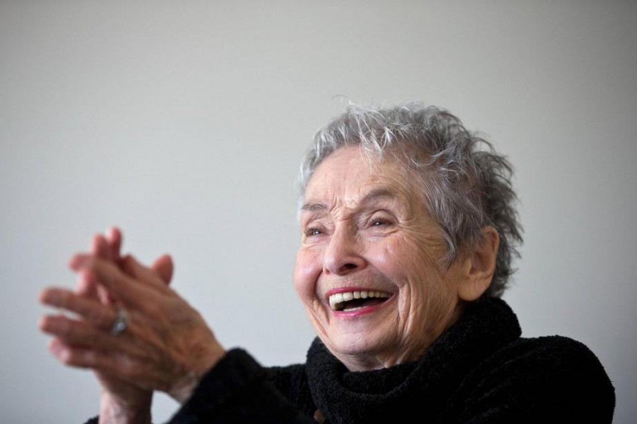 KimYaroshevskaya, 94ans, publie lelivreMonvoyage enAmérique, chezBoréal.... (Photo PatrickSanfaçon, La Presse)