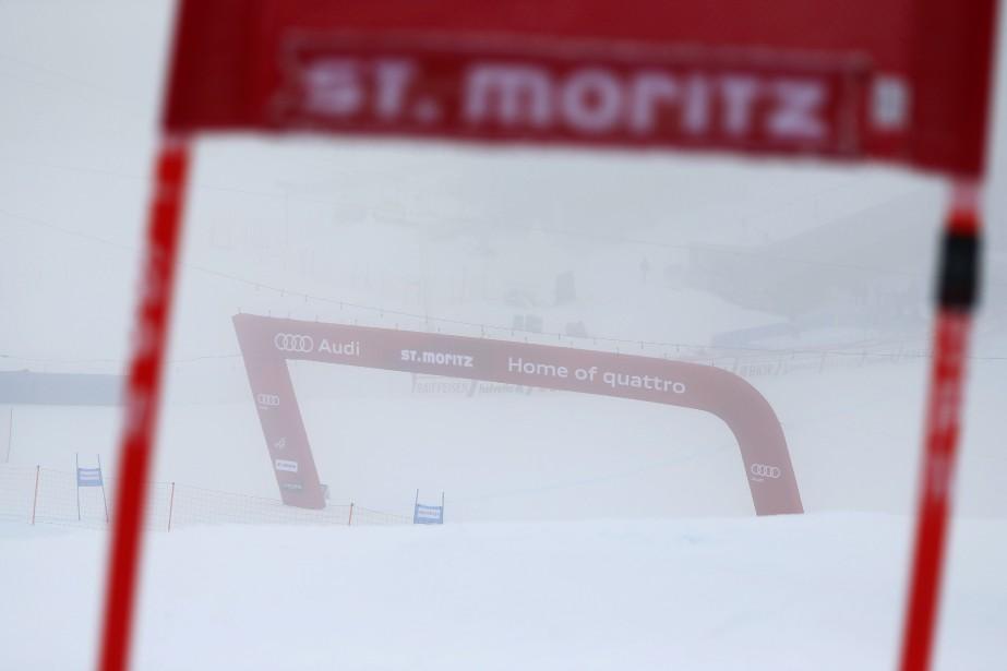 Le super-G du combiné de Saint-Moritz a été... (Photo Dominic Ebenbichler, Reuters)
