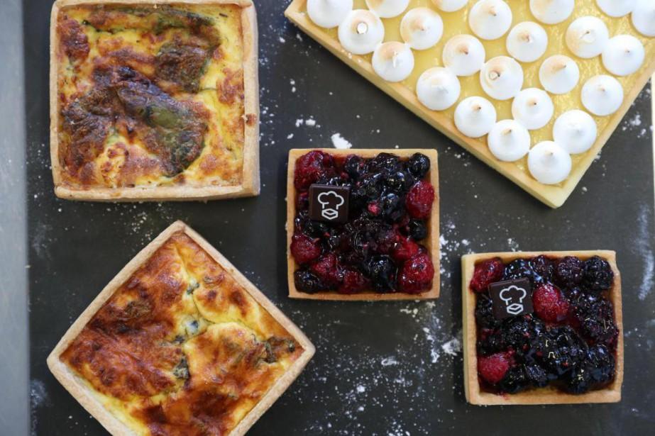 La pâte à tarte maison présentée dans ce... (Photo Martin Chamberland, La Presse)