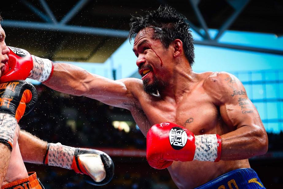 Manny Pacquiao... (Photo Patrick Hamilton, archives AFP)