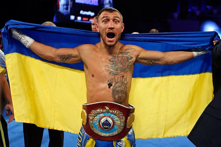Vasyl Lomachenko a défait Guillermo Rigondeaux, le 9décembre... (PHOTO ADAM HUNGER, ASSOCIATED PRESS)