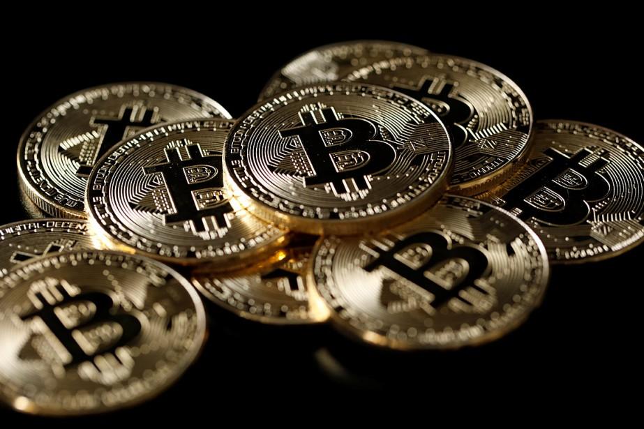 Le bitcoin, qui ne valait encore que 5000dollars... (ILLUSTRATION BENOIT TESSIER, REUTERS)