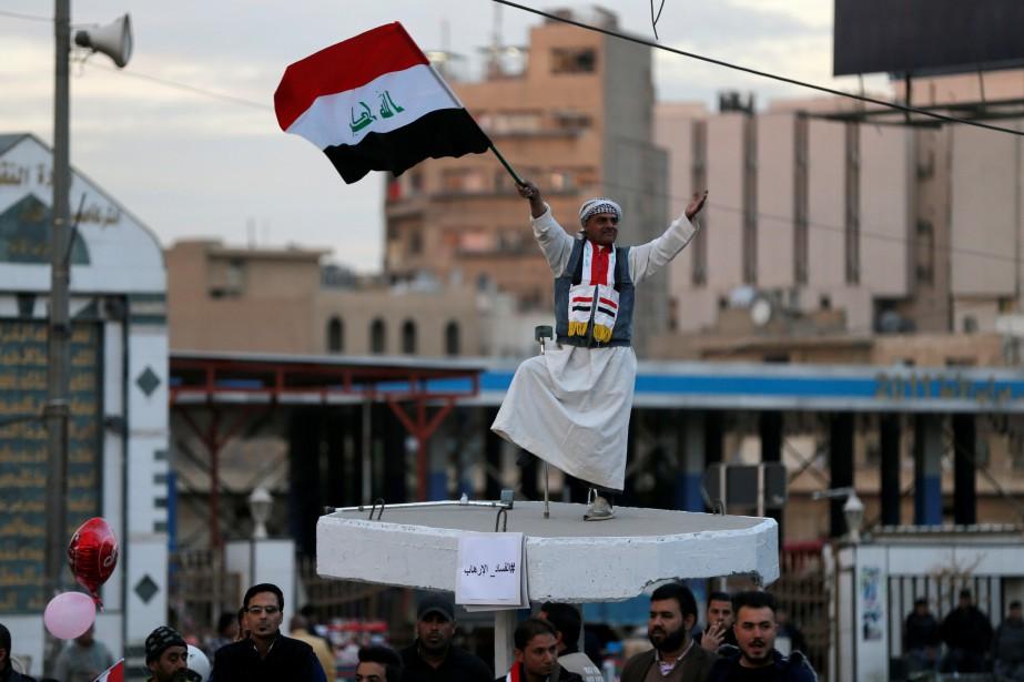 Dimanche a été déclaré jour férié en Irak... (Photo Thaier Al-Sudani, REUTERS)