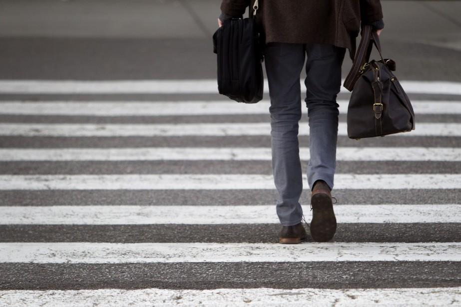 En Nouvelle-Écosse, il est interdit de traverser un... (Photo archives Bloomberg)