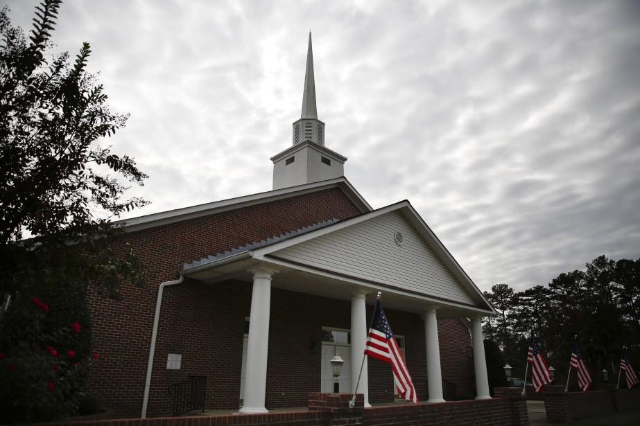 La First Baptist Church de Gallant est un... (PHOTO AP)