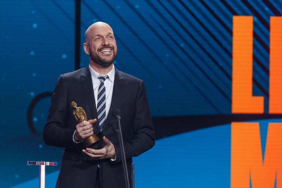 Martin Matte a remporté l'Olivier de la comédie télé de l'année pour  LesBeaux malaises . | 10 décembre 2017