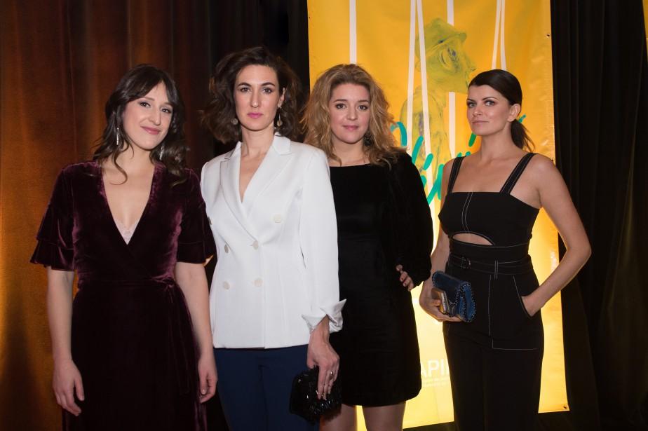 Les actrices de la série télé  Les Simone . | 10 décembre 2017