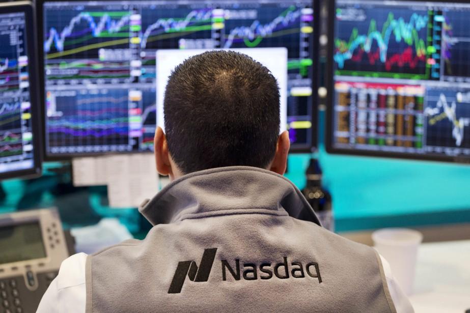 La Bourse de New York, portée par les... (PHOTO ARCHIVES ASSOCIATED PRESS)