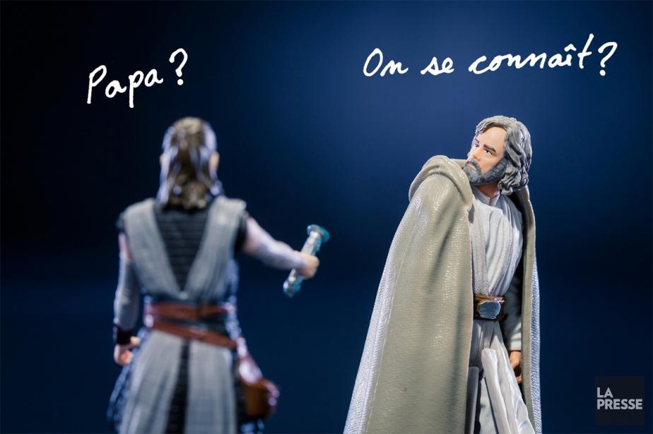 Théorie 1:Rey est la fille de Luke Skywalker,... (PHOTO EDOUARD PLANTE-FRÉCHETTE, PHOTOMONTAGE LA PRESSE)