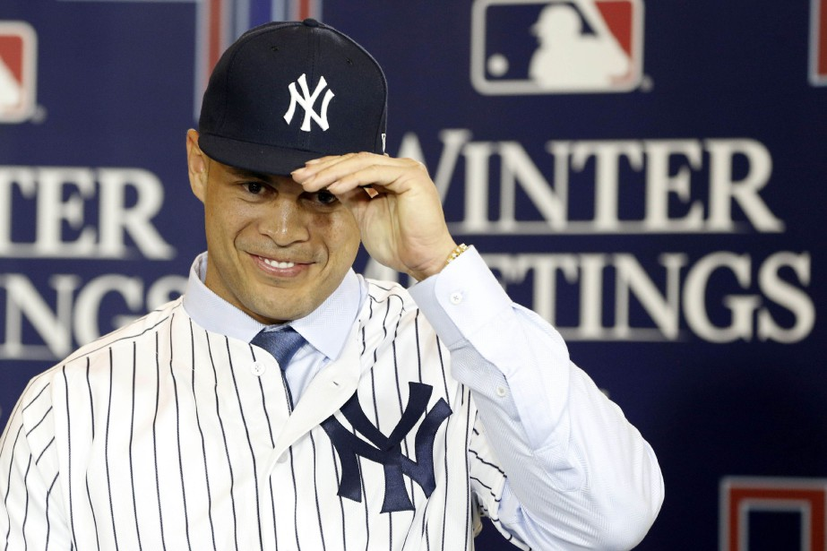 «Je suis heureux de faire partie des Yankees... (Photo Kim Klement, USA Today Sports)