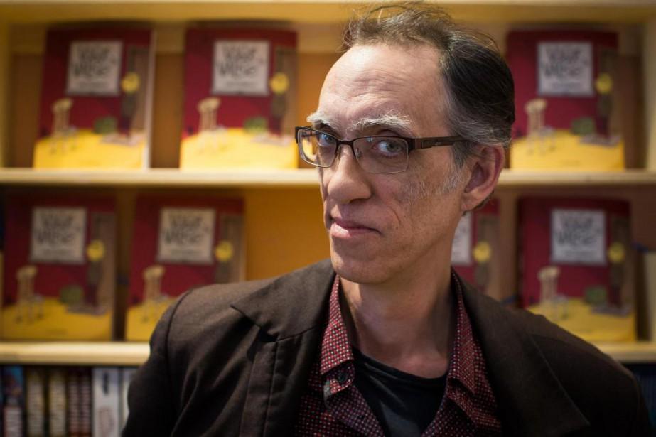 Le bédéiste québécois Siris raconte son enfance difficile,... (photo olivier pontbriand, la presse)
