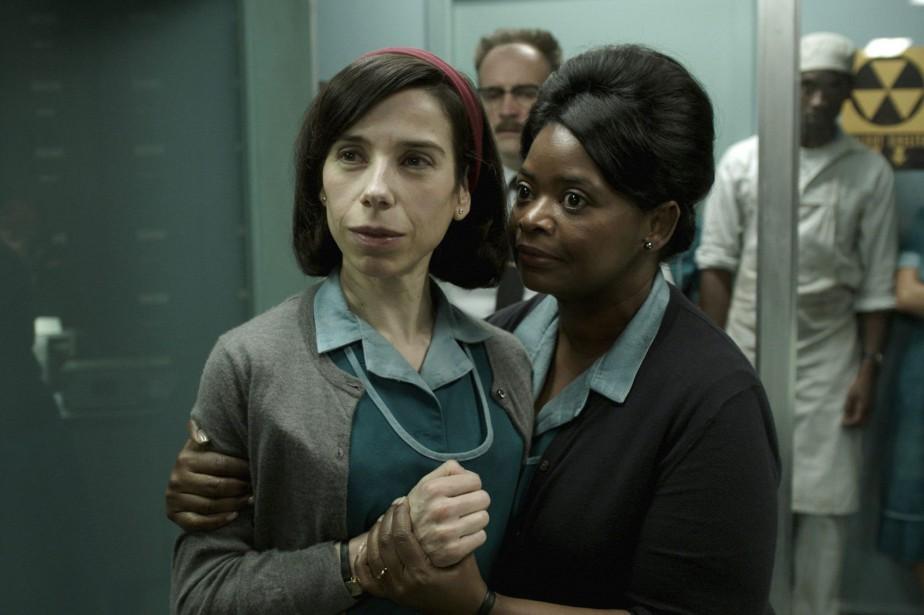 Sally Hawkins et Octavia Spencer dans une scène... (PHOTO AP)