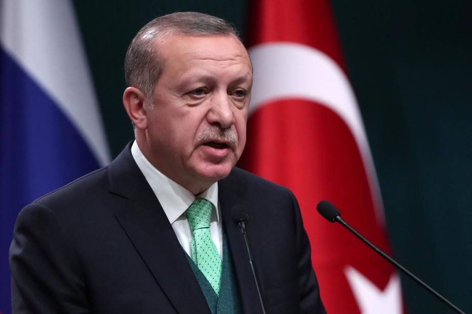 Le président turc Recep Tayyip Erdogans'est en mué... (REUTERS)