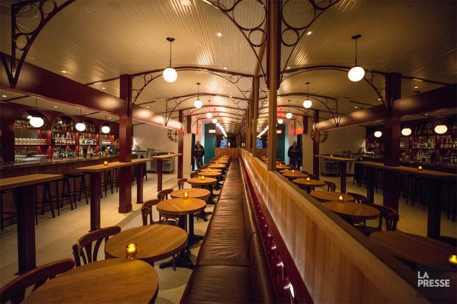 La transformation du bar a été confiée au... (Photo Olivier PontBriand, La Presse)