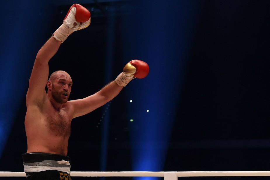 Tyson Fury... (Photo Patrik Stollarz, archives AFP)