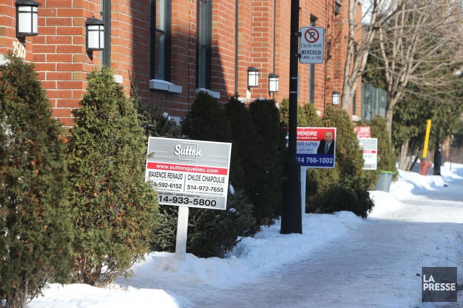 Le nombre de propriétés vendues à Québec a... (PHOTO Martin Chamberland, La Presse)