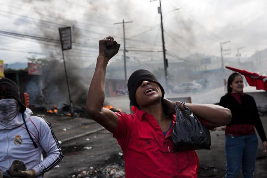 La crise politique qui secoue le Honduras est... (PhotoRodrigo Abd, Associated Press)