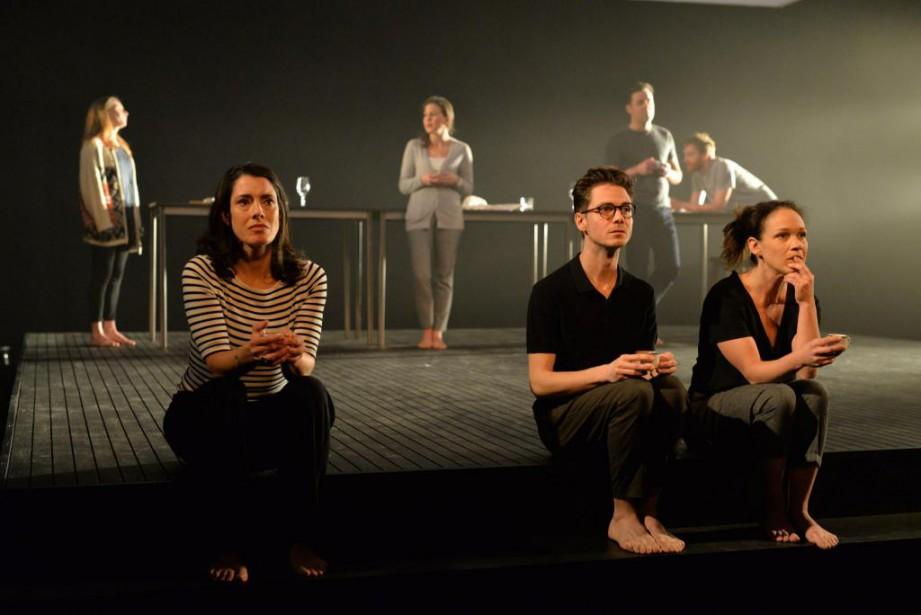 La pièce Le déclin de l'empire américain, adaptée... (Photo Claude Gagnon, fournie par Espace Go)