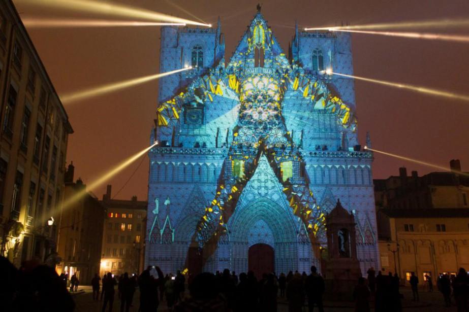 La Fête des lumières de Lyon est magique.... (PhotoEmmanuel Foudrot, archives Reuters)