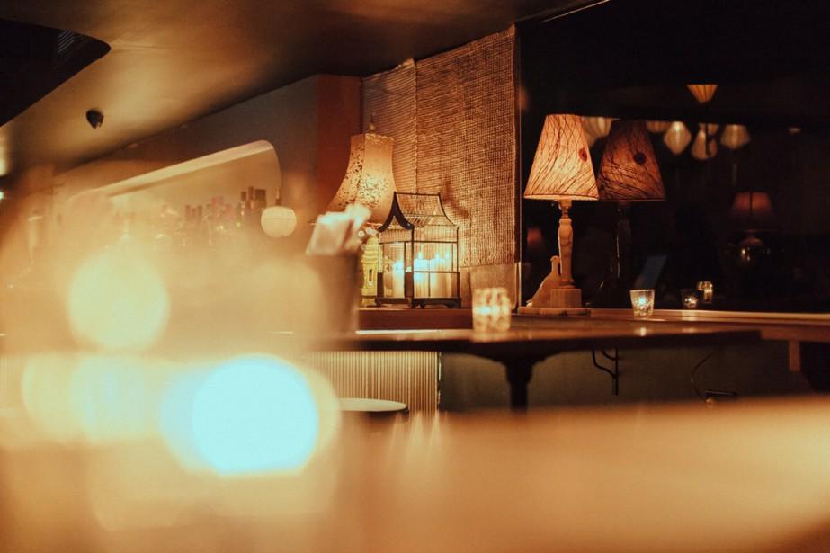 Avec ses lanternes au plafond et ses tapis... (Photo fournie par le Nhâu bar)