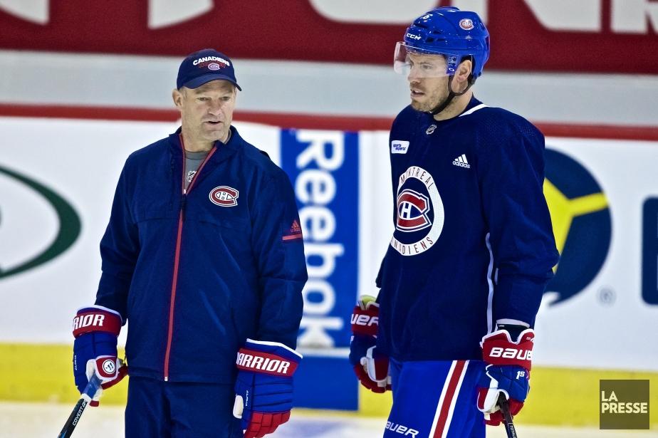 Kirk Muller et Shea Weber... (Photo André Pichette, archives La Presse)