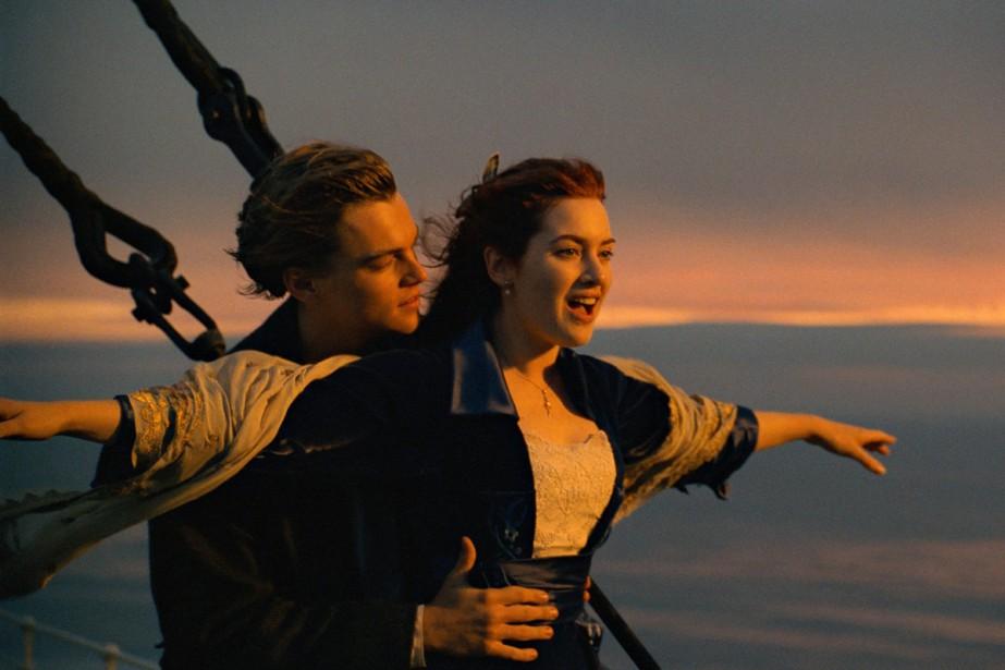 Leonardo DiCaprio et Kate Winslet dans une scène... (Photo fournie par Paramount Pictures)