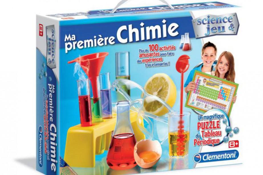 Ma première chimie, Clementoni,39,99$... (PHOTO FOURNIE PAR LE FABRICANT)