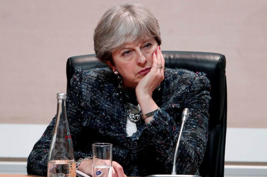 Theresa May... (Photo Benoit Tessier, archives REUTERS)