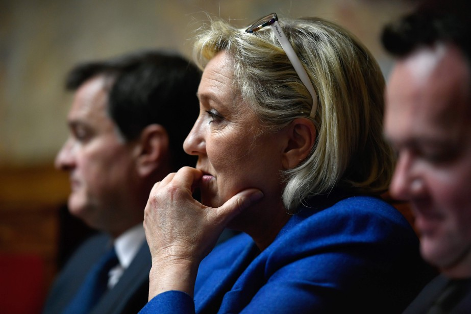Marine Le Pen... (PHOTO AFP)