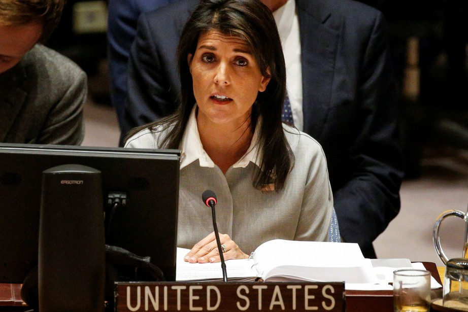 Lors de son intervention, Nikki Haley «pointera les... (PHOTO REUTERS)