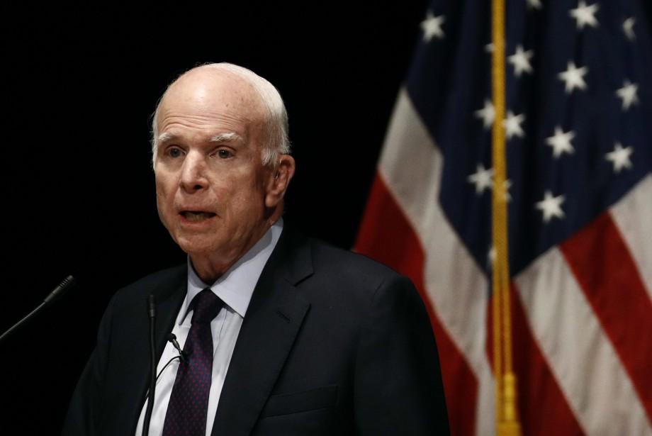 John McCain avait découvert en juillet qu'il était... (PHOTO AP)