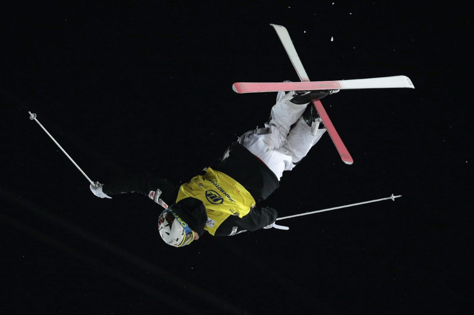 Le skieur Mikaël Kingsbury... (PHOTO ARCHIVES AP)