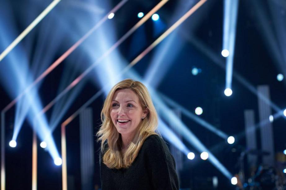 VéroniqueCloutier a déjàenregistré deux épisodes de 1resfois, sa... (Photo André Pichette, La Presse)