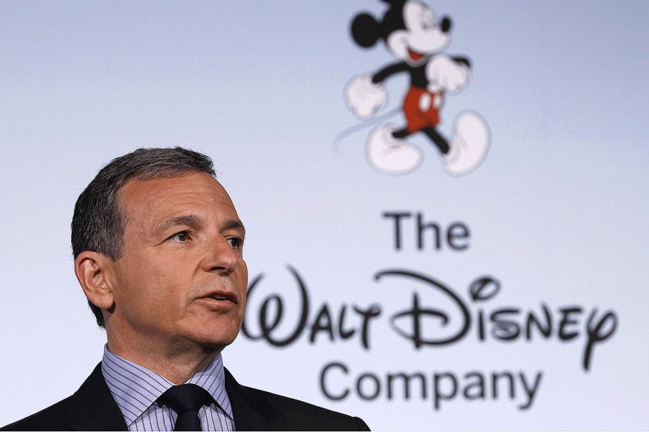 Bob Iger, le PDG de Disney, veut transformer... (PHOTO ARCHIVES REUTERS)