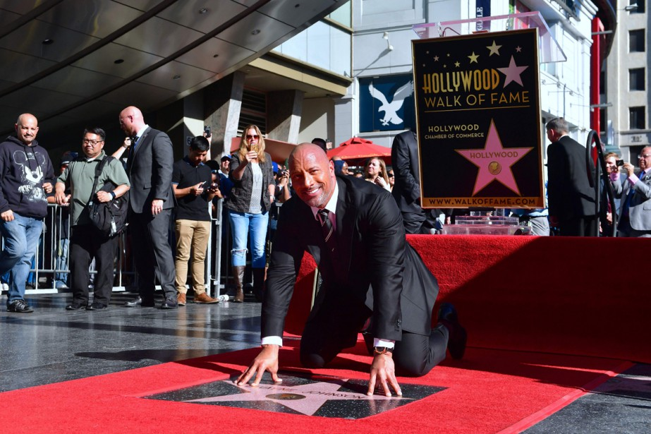 Dwayne «The Rock» Johnson ajoute un autre fait... (Photo AFP)