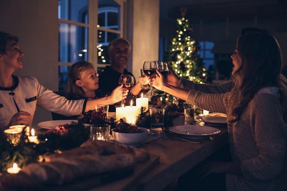 Le temps des Fêtes invite aux rassemblements en famille,... (PHOTO THINKSTOCK)