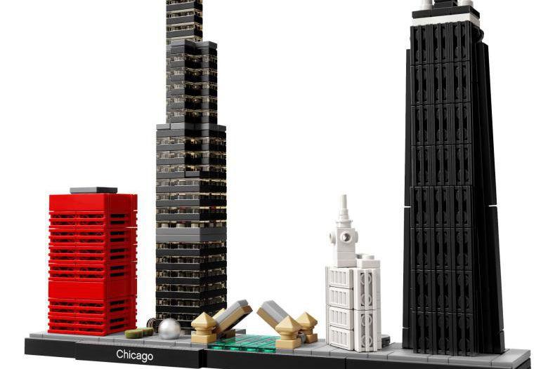 Lego Architecture, Chicago, Lego, 49,99$... (Photo fournie par le fabriquant.)