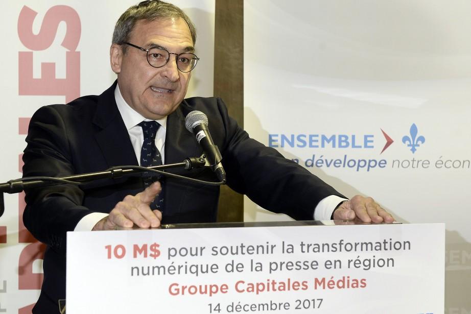 Martin Cauchon... (Photo Jeannot Lévesque, Le Quotidien)