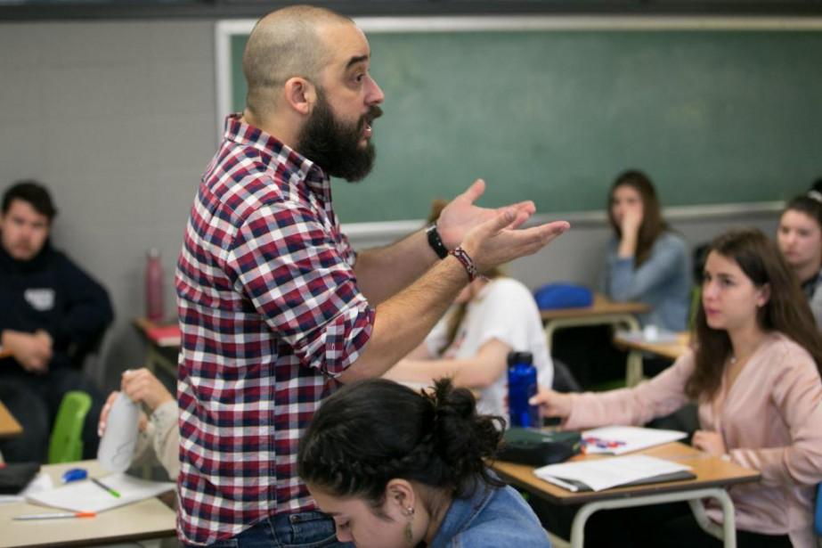 Docteur en études littéraires de l'Université du Québec... (PHOTO MARTIN TREMBLAY, LA PRESSE)