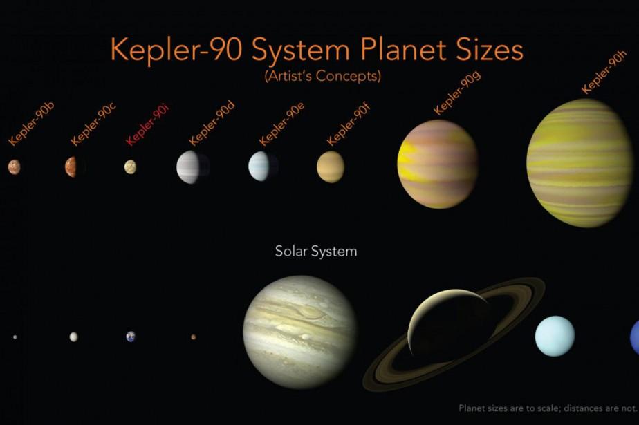 Cette illustration fournie par la NASA montre une... (PHOTO AP)