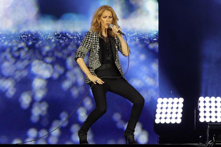 Céline Dion... (ARCHIVES AFP)