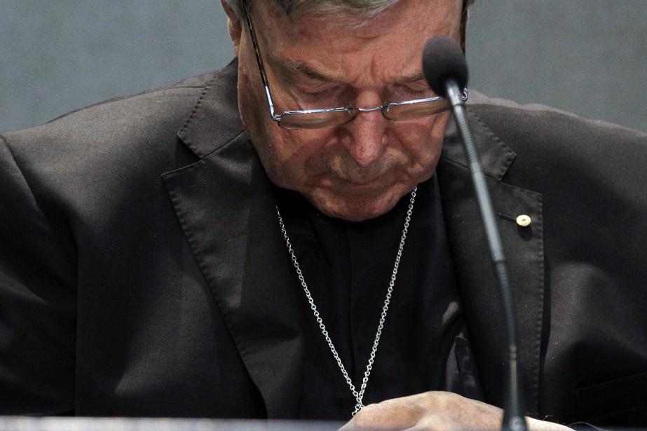L'ancien archevêque de Sydney et actuel responsable du... (Photo Gregorio Borgia, AP)