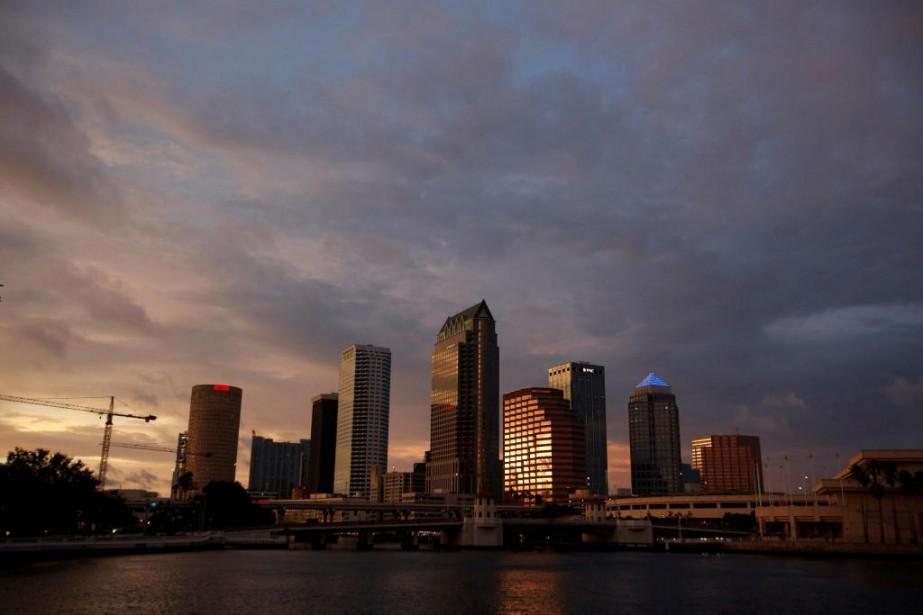 Tampa n'a pas l'habitude des tempêtes de la... (Photo Chris Wattie, Reuters)