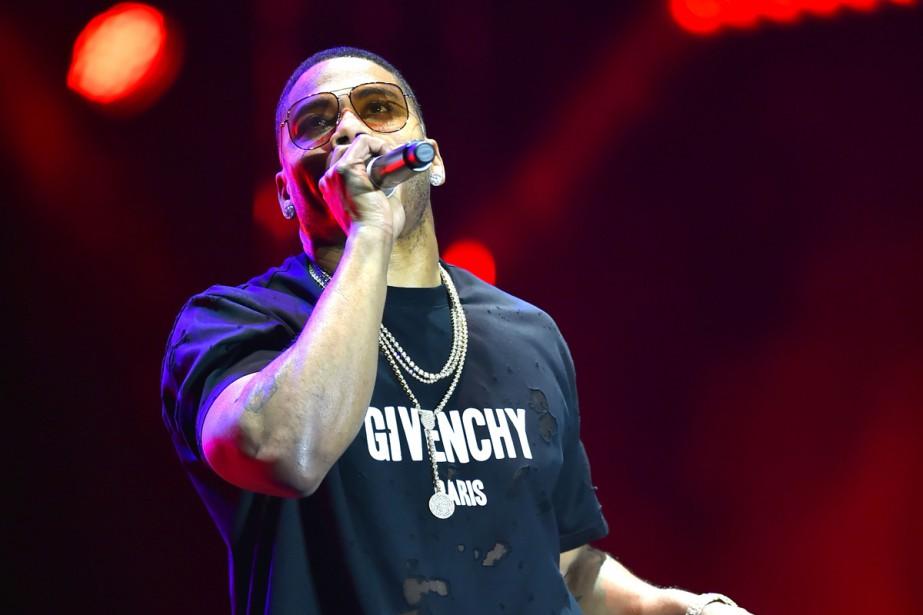 Le rappeur américain Nelly s'est produit jeudi soir dans... (PHOTO ARCHIVES AFP)